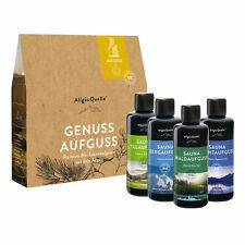 Saunaaufguss-Set AllgäuQuelle BIO-Sauna-Öle Duft Eukalyptus Latschenkiefer Zirbe