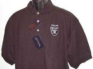Vintage 90's Oakland RAIDERS ANTIGUA Polo Shirt NFL ProLINE SEWN Logo NWT NOS