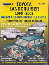 Toyota Landcruiser 1990-2007 Automobile Repair Manual: Diesel Engines Including Turbo by Max Ellery (2003, Paperback)