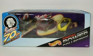 Hot Wheels PONTIAC 70th Anniversary Power Collection Limited Edition #1846/7000