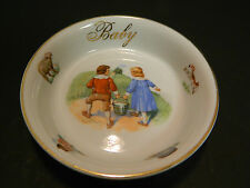 "Vintage Germany Jack & Jill Baby Bowl 5.25"" x 1.25"" Excellent Condition"
