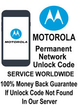 MOTOROLA UNLOCK PIN/CODE SIM NETWORK UNLOCKING VIRGIN MOTOLUXE XT615