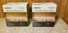 Under Cabinet Lighting LED by Ustellar lot of 2 (10 feet each) 1500 Lumens - New