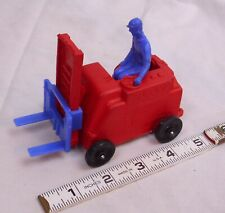 AUBURN RUBBER FORK LIFT TOY COMPLETE