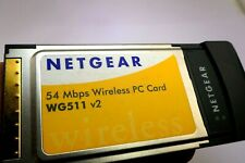 Netgear 54 Mbps Wireless PC Card WG511 v2 2006 Up to 100Ft range