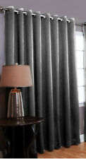 Thick Cotton Velvet Grommet Curtain-Lined-Blackout-Energy Saving-Luxury Series