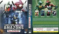1974 Kamen Rider Amazon (TV) + 2016 Amazons (TV+Movie) ~ SEAL ~ Bonus: 5 Movie