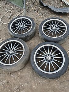 Ford Set Of 4 Alloy Wheels And Tyres