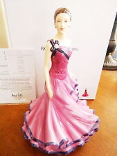Royal Doulton Sandra Canadian Figurine of Year 2015 Hn5734 200 Years - New/Box!