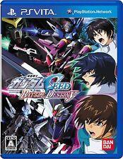 Vita Mobile Suit Gundam Seed Battle Destiny Japanese Version.