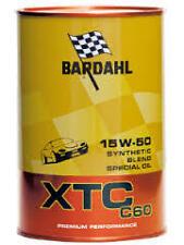 5 LITRI OLIO MOTORE BARDAHL XTC C60 15w50 - PROMOZIONE NOVITA'