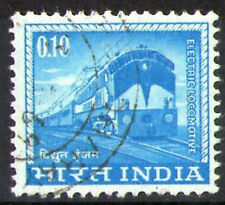 INDIA 1965 0.10 ELECTRIC LOCOMOTIVE COMMEMORATIVE STAMP SG 509 VFU