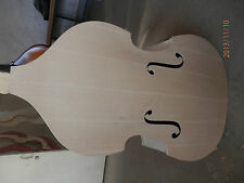 Bass body Hand made white upright bass body 3/4 plywood top plywood back