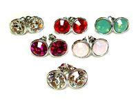 Women Crystal Bella Stud Earrings Made with SWAROVSKI® Crystals