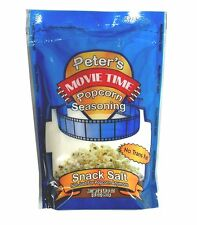 Peters Popcorn, Nut, Snack, Seasoning Salt 35 oz. Fine White, FREE QUICK SHIP