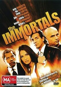 The Immortals DVD 1995 Eric Roberts Tia Carrere Robbery Heist Action Movie