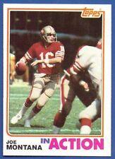1982 Topps #489 Joe Montana IA