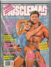 MUSCLEMAG muscle magazine/SWIMSUIT Iss/ERIKA ANDERSCH & STEPHAN HARTL 9-93 #135