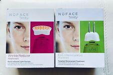 Nuface Trinity Pro Wrinkle Reducer & ELE (Lip & Eye) Attachment, New Sealed Box