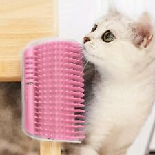 1pc Pet Products For Cats Brush Corner Cat Massage Self Groomer Comb Brush Kitty