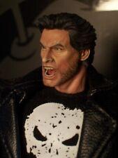 Custom Painted Mezco 1/12 Hugh Jackman Logan Wolverine Head Only