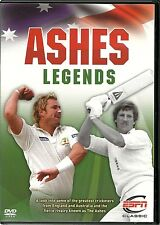ASHES LEGENDS DVD - SOME OF THE GREATEST CRICKETERS FROM ENGLAND & AUSTRALIA