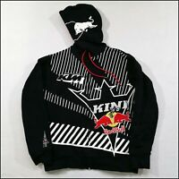 KINI x Red Bull Full-Zip MTX Hoodie | Medium | Black/Red/White | Rare