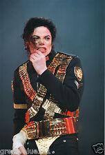MICHAEL JACKSON PHOTO UNRELEASED HUGE 12 INCH X 8 INCHES COLOUR 1996 UNIQUE GEM
