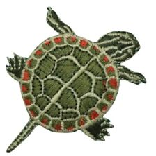 """Painted Turtle Applique Patch 2.5"""" (Iron on)"""