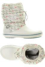 Crocs Stiefel Damen Boots Gr. US 10 (DE 41) kein Etikett weiß #5b31b22