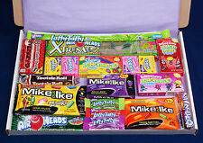 American Candy Gift Box - USA Sweets - Birthday Present - Hamper - Mike and Ike