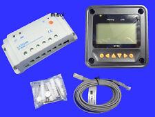 Epsolar Solar regulator 20A 12/24V controlador de carga solar 50V remote meter