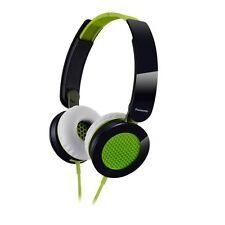 Panasonic RP-HXS200-G Sound Rush On-Ear Headphones RPHXS200 Green