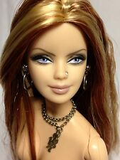 Nude Collector Edition Barbie Doll Hard Rock Mackie Model Muse Red Blonde Mix
