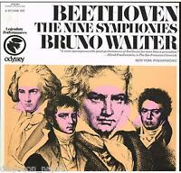 Beethoven: Le 9 Syms / Bruno Walter, New York Ivanina, Onic Orchestra - LP CBS