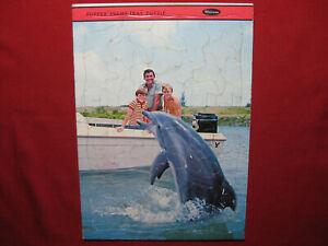 1965 Vintage Flipper Dolphin Jigsaw Puzzle John Sands Australia Whitman