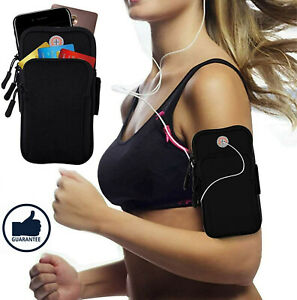Arm Band Mobile Phone Holder Bag Sports Running Gym Exercise Pouch Case☀