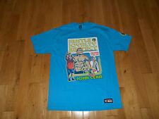 WWE JOHN CENA Hustle Loyalty Respect Never Give Up WRESTLING Mens T-Shirt Large