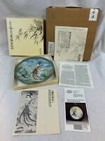 Imperial Jingdezhen Porcelain Legends Lake Plate #1 Lotus Goddess d819
