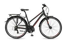 Winora Santiago Damen 28 Zoll 21-G TX800 17/18 schwarz/grau/rot matt Rh 48