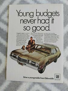 1968 Oldsmobile Vista Cruiser Wagon USA Original Magazine Advertisement