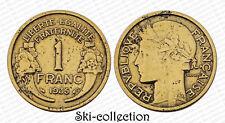 1 Franc 1935 Morlon. Petite Tirage. RARE