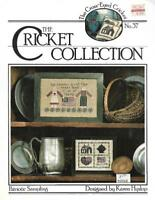 Patriotic Sampling for Counted Cross Stitch Cross-Eyed Cricket Collection No 37