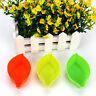 5pcs DIY Leaves Baking Mold Soap Flexible Silicone Mould Candy Chocolate Cake O