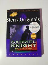Gabriel Knight Sins Of The Fathers - Pc Cd Rom