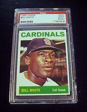 1964 Topps #240 Bill White St. Louis Cardinals Graded PSA 9 MINT OC INCREDIBLE!