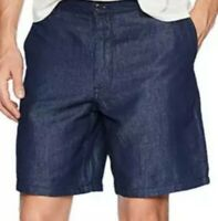 New A|X Armani Exchange Men's Washed Denim Style Shorts Size 36