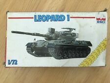 1.72 ESCI - GERMAN LEOPARD 1 TANK. OLD BOX COMPLETE. GREAT DETAIL VERY RARE