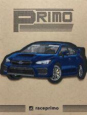Subaru WRX Sti VA Rally Blue Sew Iron On Car Patch Racing Heat Evo Raptor GH GR