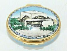 Halcyon Days Enamel Trinket Box Morton H Meyerson Symphony Center 1989 I.M. Pei